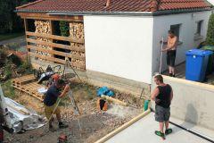 Garage_Aufbau Tag 1_01.07.19