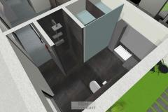 Luftbild Badezimmer (OG)