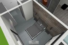 Luftbild Schlafzimmer