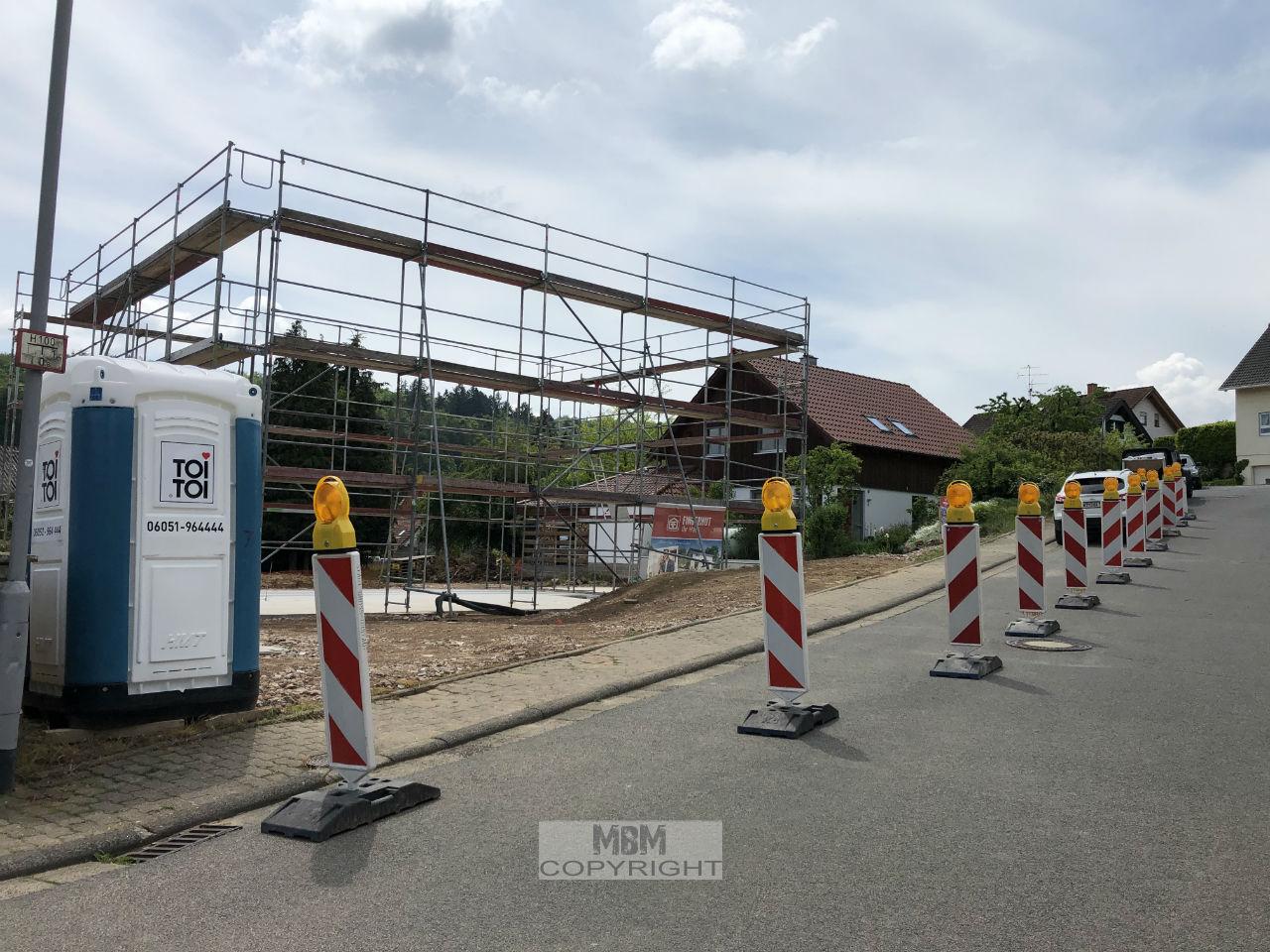 Straßensperrung Darmstadt